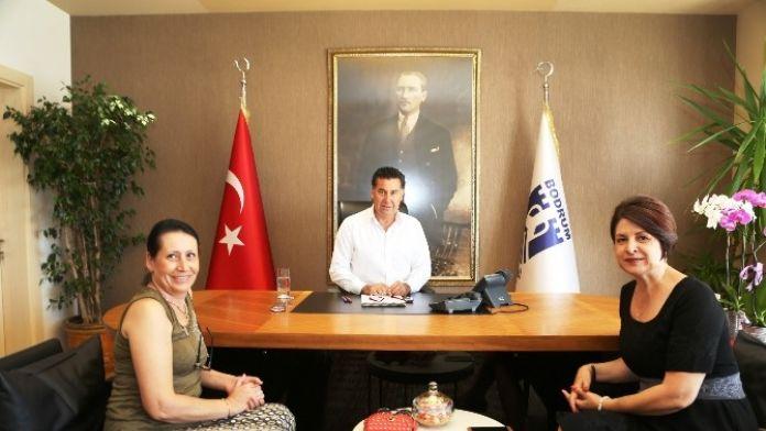 Romanya Başkonsolosu, Başkan Kocadon'u Ziyaret Etti