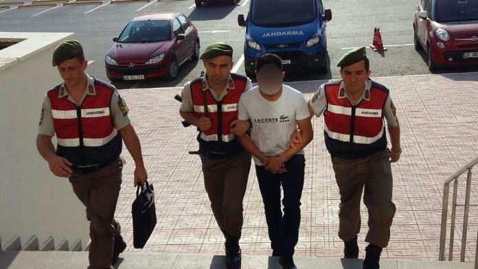 Nusaybin'de hendek kazdı, Bodrum'da yakalandı