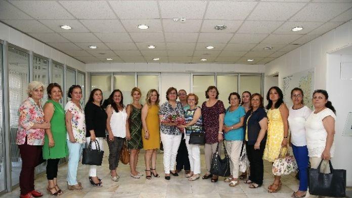 CHP'li Kadınlardan Pekdaş'a Ziyaret