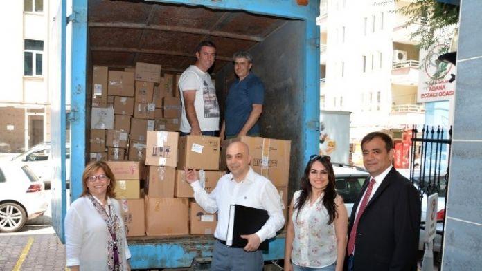 Adana'da 2 Ton Miadı Dolmuş İlaç Toplandı
