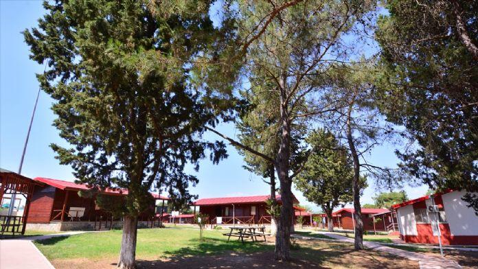 Aslantaş Gençlik Kampı'na büyük ilgi