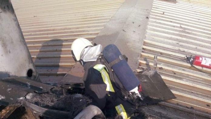 Fabrikadaki Yangın Büyümeden Söndürüldü