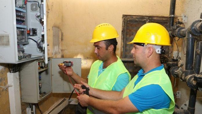 Su Pompaları Düzenli Olarak Kontrol Ediliyor
