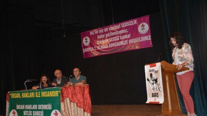 İHD Bitlis Şubesi Kongresi
