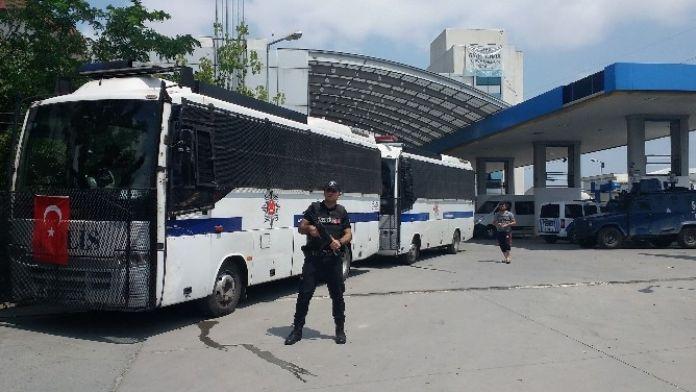 Otobüste Terör Şüphesi Polisi Alarma Geçirdi