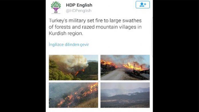 Bakan Çavuşoğlu twitterden sert çıktı