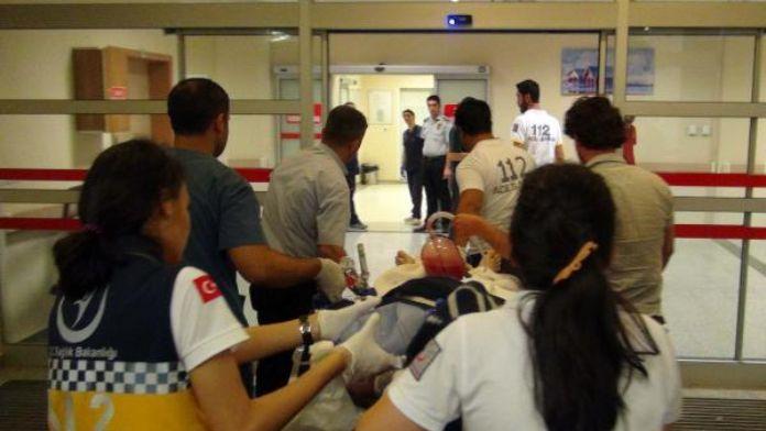 Türkmen Dağı'nda yaralanan Suriyeli tedavi için Adıyaman'da
