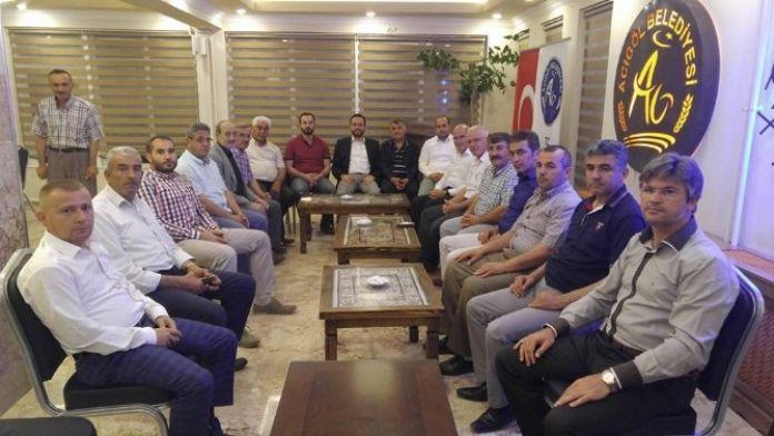 AK Parti Belediye Başkanları Sahurda Biraraya Geldi