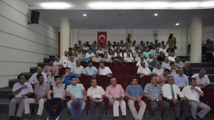 Milli Eğitim Müdürü Demir, Okul Müdürleri İle Toplantı Yaptı
