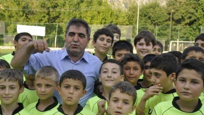 Amasya Belediyespor'da Futbol Yaz Kursu Başladı