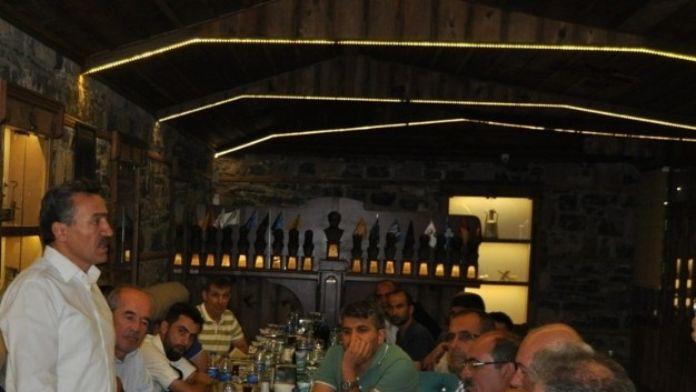 Başkan Tutal'dan Basın Mensuplarına İftar Yemeği