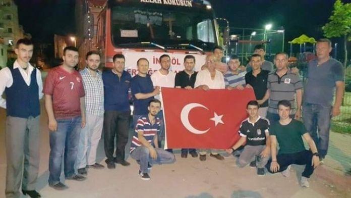 Bursalılar Türkmen Dağı'nın Çığlığına Duyarsız Kalmadı