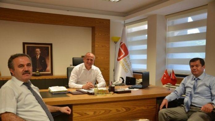 Prof. Dr. Sertçelik'ten Başkan Keleş'e Ziyaret