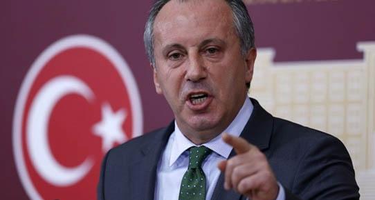 Muharrem İnce'den Davutoğlu'na Şok Soru!
