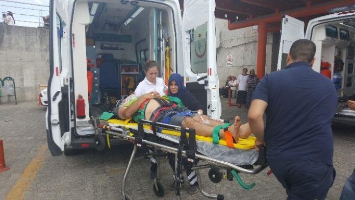 İnşaattan Düşen İşçi Yaralandı