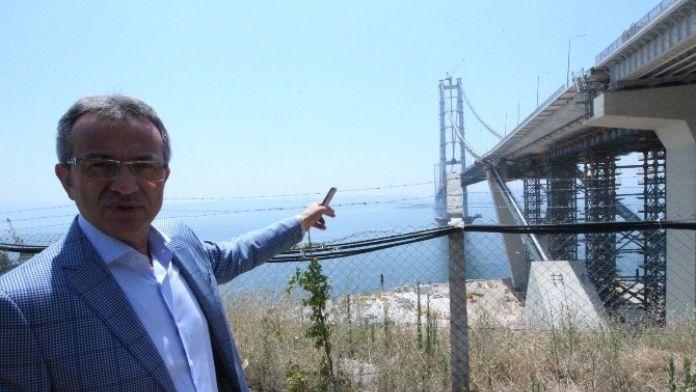 Başkan Köşker, Osmangazi Köprüsü Ziyaret Etti