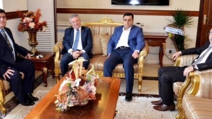 Milletvekillerinden Vali Arslantaş'a Ziyaret