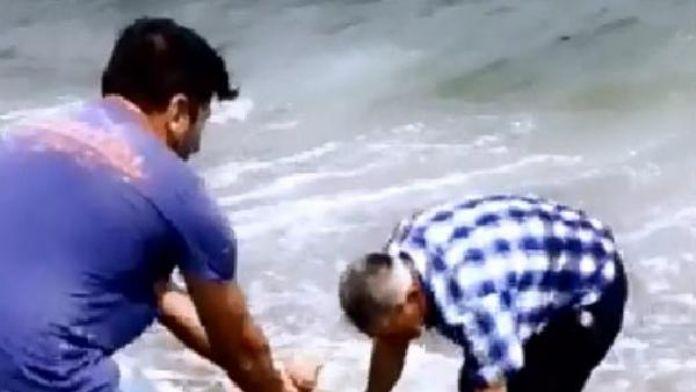 Boğulan Gencin Cesedi Kıyıda Bulundu