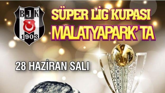 Malatyapark'ta Beşiktaş Şampiyonluk Kupası Coşkusu