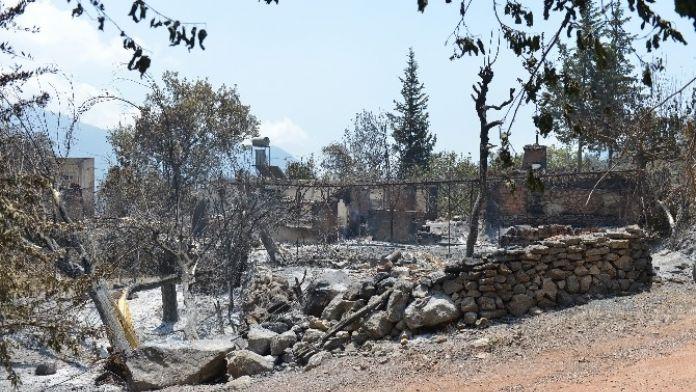 Kumluca Yangınının Yaraları Sarılıyor