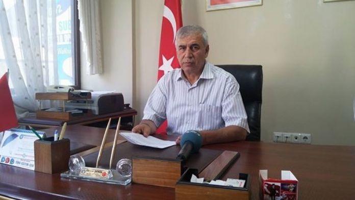 Türk Eğitim-sen Malatya Şube Başkanı Ekrem Şenol;