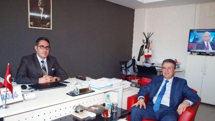 Yeni Çeltek Kömür İşletmeleri Genel Müdürü Coşkun, Oran Yozgat Yatırım Destek Ofisini Ziyaret Etti