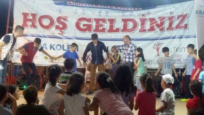 Sevgi Evlerindeki Çocuklar Doyasıya Eğlendi
