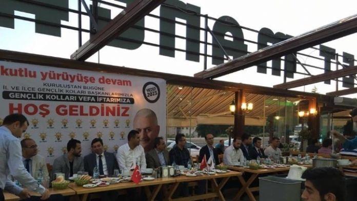 AK Parti Vefa İftarında Kurucu Gençlik Kolları Başkanları İle Buluştu