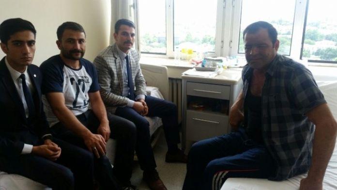 Ülkü Ocukları Gazileri GATA'da Ziyaret Etti
