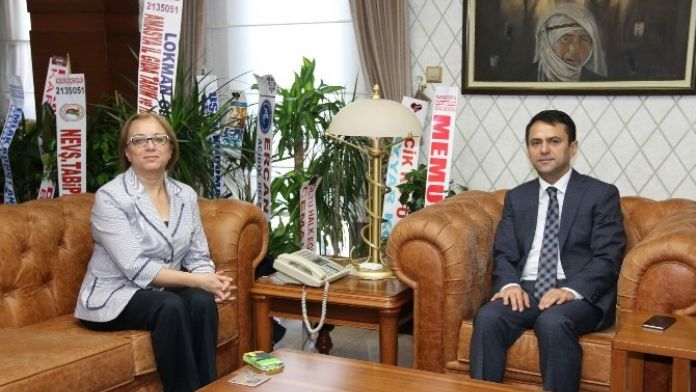 Rektör Kılıç'tan Vali İlhami Aktaş'a Ziyaret