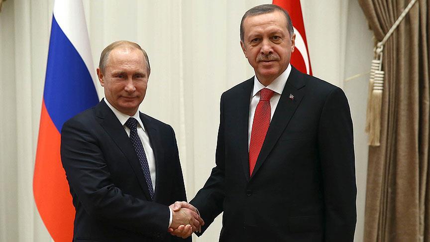 Cumhurbaşkanı Erdoğan Rusya Devlet Başkanı Putin'e mektup gönderdi