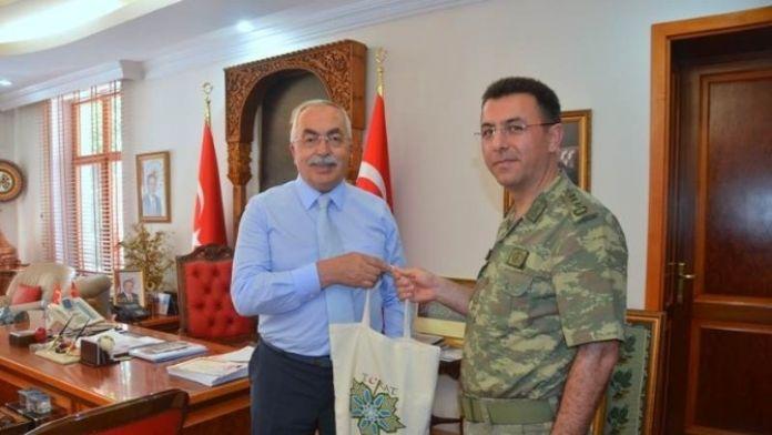 Şırnak'a Atanan Kurmay Başkanı Polat'tan Veda Ziyareti