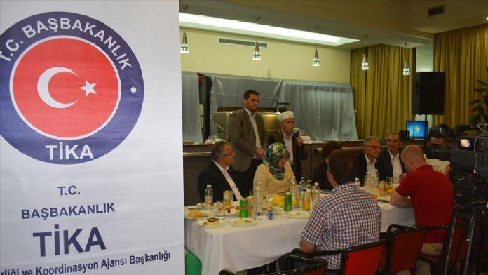 TİKA'dan Arnavutluk'ta iftar
