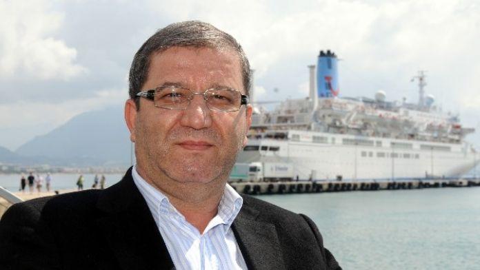 İsrail Gemileri yeniden Alanya'da