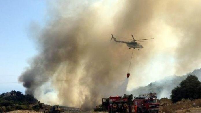 Demre'deki Yangın Kontrol Altına Alındı