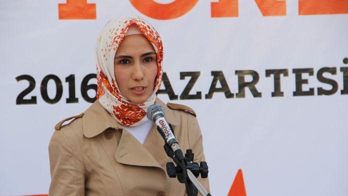 Sümeyye Erdoğan Bayraktar'dan anlamlı konuşma