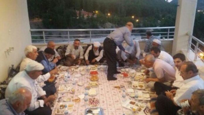 Kızılay Baykan Şubesi Başkan Yardımcısı Erol'dan İftar Yemeği
