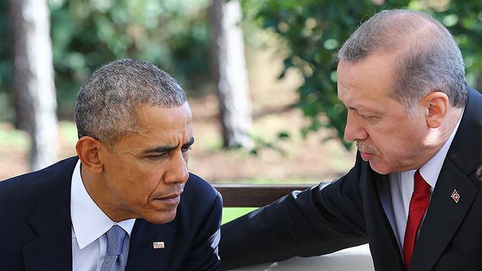 Obama'dan  Erdoğan'a kritik telefon!
