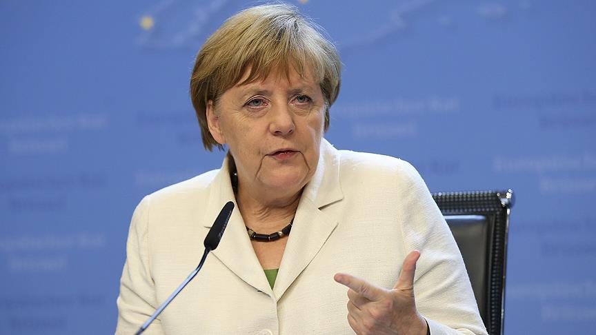 Merkel'den İngiltere çıkışı!
