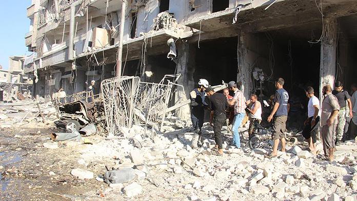 Ramazan dinlemedi, Esed sivilleri yine vurdu!...