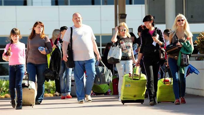 Uçak biletlerine zam yapılması, Rus turistleri ürküttü