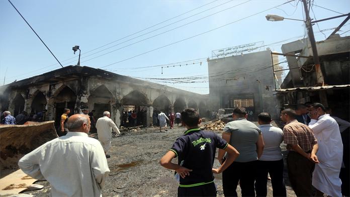 Türbe'yi havaya uçurdular, 50 ölü
