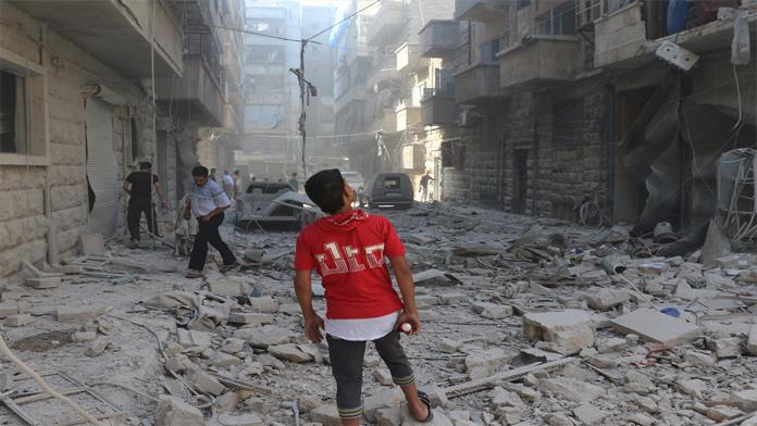 Suriyeli'nin çilesi bitmiyor. Esed Yine bombaladı.