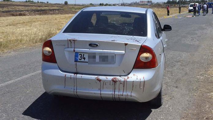 Siverek'de taranan otomobil'de 6 aylık bebek öldü