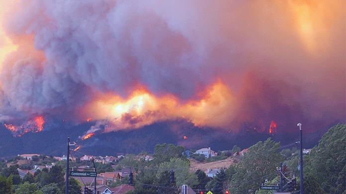Colorado Alev Alev yanıyor