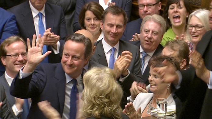 Başbakan Alkışlarla Veda Etti...