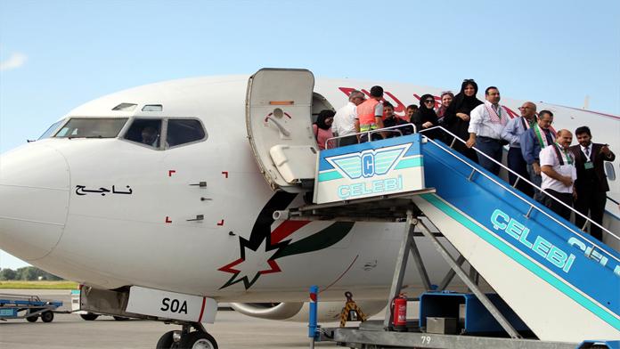 Arap Turistlerde Charter'a Başladı.