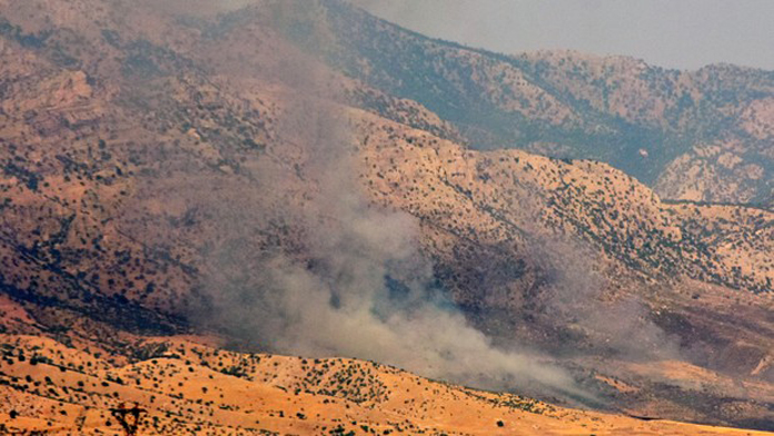 Kilise Dağı ve Küpeli Dağlarında PKK'lar, Kaçacak Delik Arıyor.