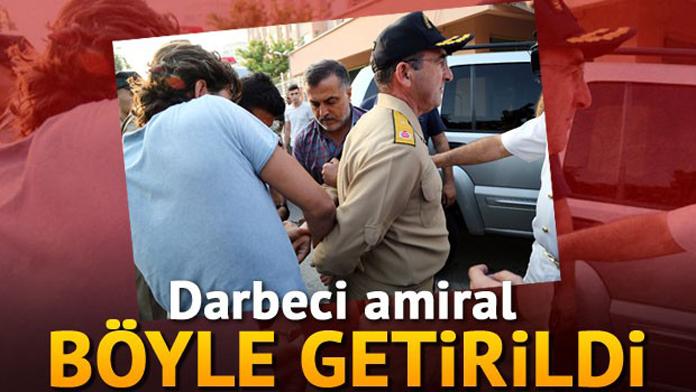 Akdeniz Donanma Komutanı Tuğamiral Nejat Atilla Demirhan FETÖ, Askeri Darbe Teşebbüsünden Tutuklandı