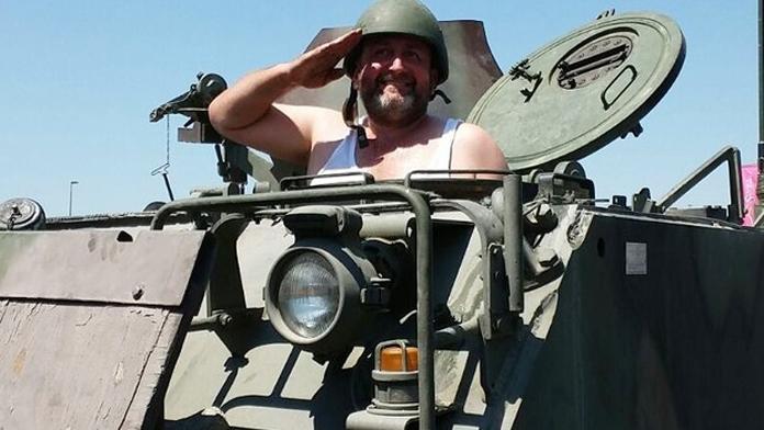 Cuntacı'nın Tankı Vinç Şoförüne Kalmış.